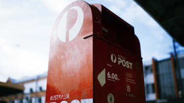 The rate of decline in Australia Post's letters business is accelerating.