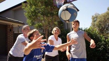 Juggling many balls  ... Kristina Keneally has kept her family in the spotlight.