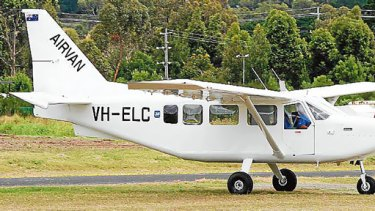 An Australian-made Airvan.