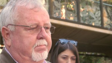 LNP candidate Barry O'Sullivan speaking about his grandson's condition.