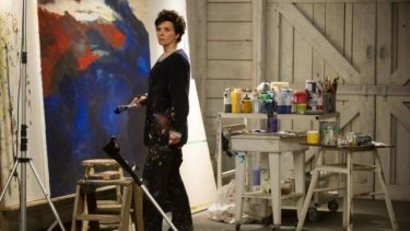 Juliette Binoche in <i>Words and Pictures</i>.