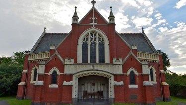 The church in Hawthorn West.