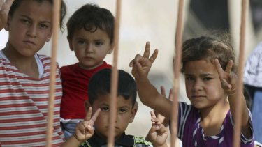 """""""The children of Syria are in a narrow, dark place. We must be their friends. We must end this war."""""""
