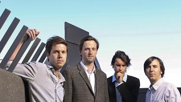Electro-pop internationalists: (from left) Ben Browning, Dan Whitford, Tim Hoey and Mitchell Scott from Cut Copy.
