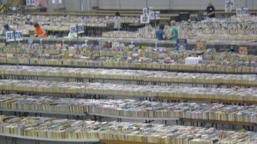 The annual Lifeline Bookfest at the Brisbane Convention and Exhibition Centre offers two million books for sale.