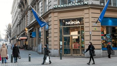 Nokia is pinning its smartphone hopes on the launch of new Lumia handsets this week.  Photo: Bloomberg