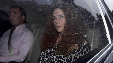Rebekah Brooks ... Former employees say she could equal her male counterparts in swearing ... She could also be fearsome.
