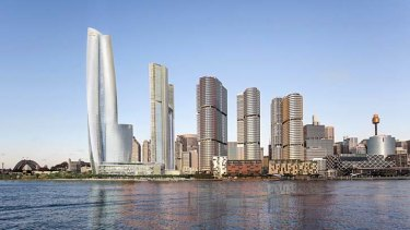 Hypocritical: James Packer's proposed hotel and private casino has slipped through the government's Unsolicited Proposals Provision.