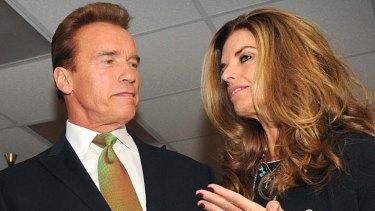 Split ... Arnold Schwarzenegger and Maria Shriver.