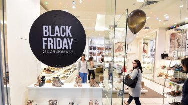 The Black Friday sales have become a part of Australia's retail calendar.