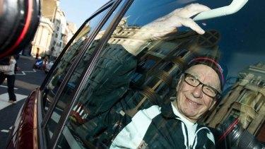 At stake ... Rupert Murdoch's bid for pay TV network BSkyB.