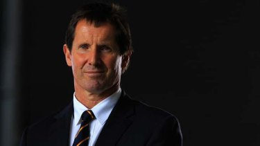 Snubbed by the NZRU ... Robbie Deans.