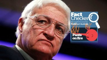 Bob Katter claims that for every 20 deaths in Australia, there are only 17 live births to replace them are wrong.