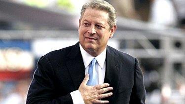 Climate change campaigner Al Gore.