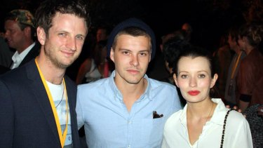 <i>Drift</i> actors Aaron Glenane and Xavier Samuel (<i>The Twilight Saga: Eclipse</i>) were excited to see the whole film for the first time, along with actress Emily Browning (<i>A Series of Unfortunate Events</i>), who accompanied Samuel to the premiere.