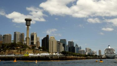 Barangaroo  ... the site for Sydney's proposed second casino.