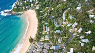 Grand designs ... the surf club will cover one hectare.