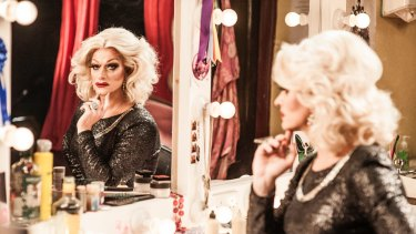 Panti Bliss, aka Rory O'Neill, in the documentary The Queen of Ireland.
