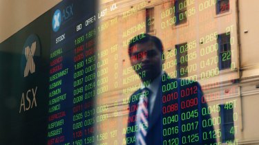 Shares lost ground on Tuesday.