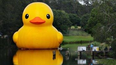 Florentijn Hofman's  rubber duck.