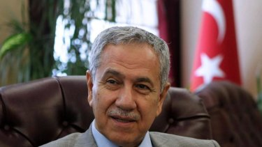Turkey's Deputy Prime Minister Bulent Arinc. He thinks women shouldn't laugh in public.