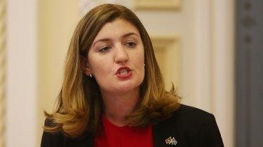 Queensland Minister for Women Shannon Fentiman.