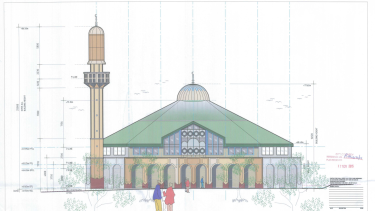 The proposed Narre Warren mosque