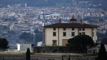 The imposing 16th-century Forte di Belvedere in Florence, Italy, where Kim Kardashian and Kanye West married and hosted a reception on Saturday May 24.
