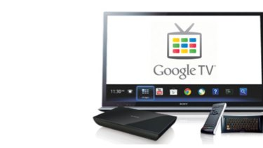 Sony's Internet Player with Google TV.