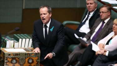 Opposition Leader Bill Shorten has had to apologise to Parliament over comments made mistakenly in defence of Senator Stephen Conroy.