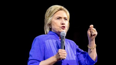 Democratic presidential hopeful Hillary Clinton could become the first woman to hold the nuclear codes.