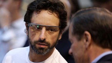 """""""It's by no means a done deal yet"""" ... Sergey Brin on Google Glass."""