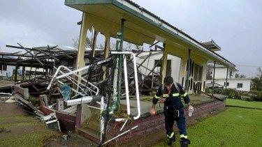 Yasi's damage in 2011.
