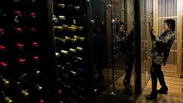 Expensive taste ... wine drinkers are choosing the pricier bottles.