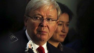 Former prime minister Kevin Rudd.