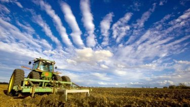 Farming is exposed to a changing climate.