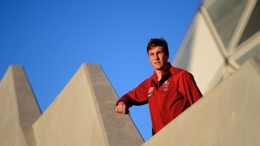 Reaping the rewards: Melbourne's Tom McDonald is making his mark.