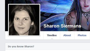 Sharon Siermans, pictured on her Facebook page.