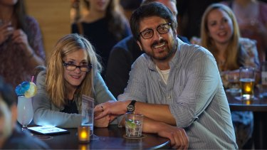 Holly Hunter and Ray Romano in the roles of Beth and Terry.