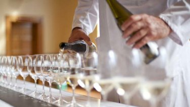 Statistics say that 88 per cent of wine consumed in this country is Australian wine.