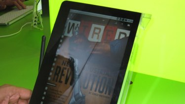 Wired has become the first magazine to show off a complete, specially designed version for tablet devices.