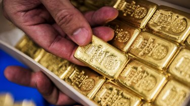 Gold prices helped power the commodities rally in the first half of the year.
