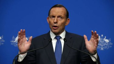 Prime Minister Tony Abbott says he is taking advice on whether the downing of flight MH17 would be classified as a terrorist act.
