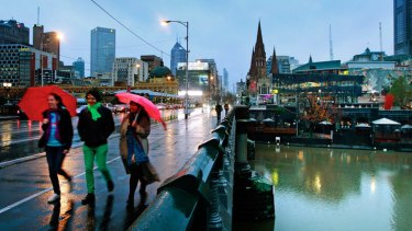 Melbourne is bracing for gale-force wind and storms today.