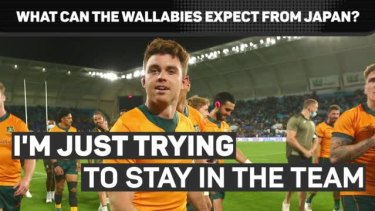 @wallabies winger Andrew Kellaway spoke from experience at the refined speed and skill of Japan ahead of Australia's clash with the host nation to kick off its spring tour.