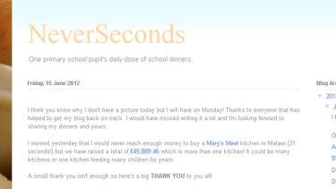 NeverSeconds ... Martha Payne's blog.