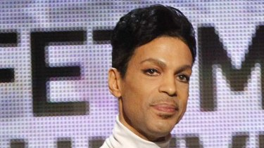 Star attraction ... Prince.