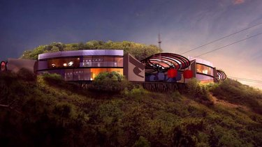 The proposed Nanjing visitor centre.
