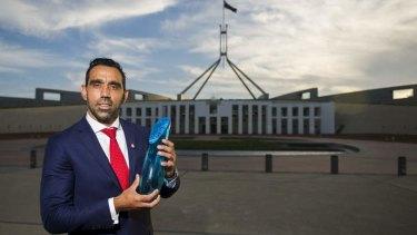 Australian of the Year, Adam Goodes.