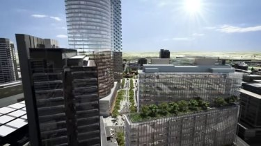 Parramatta Square could be completed by 2019 if all goes well.